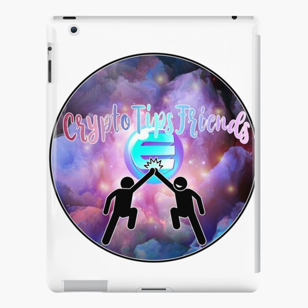 Cryptotipsfriends logo iPad Snap Case
