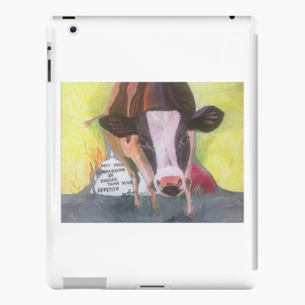 Compassion For Animals. Be Vegan. iPad Snap Case