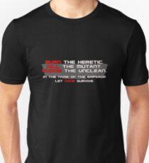 Warhammer 40K - Imperium of Man Unisex T-Shirt