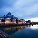 Dublin Quay, Ireland by Alessio Michelini