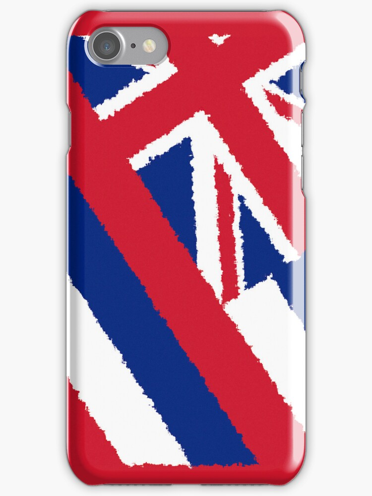 Smartphone Case - State Flag of Hawaii  - Abstract Painted by Mark Podger
