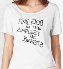 Simplest of Beasts Women's Relaxed Fit T-Shirt