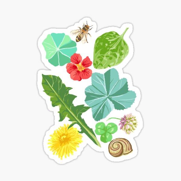 Summer Meadow Pattern Sticker