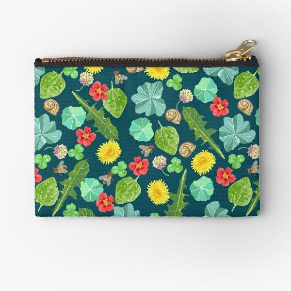 Summer Meadow Pattern Zipper Pouch