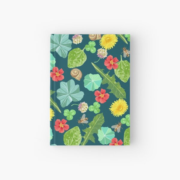 Summer Meadow Pattern Hardcover Journal