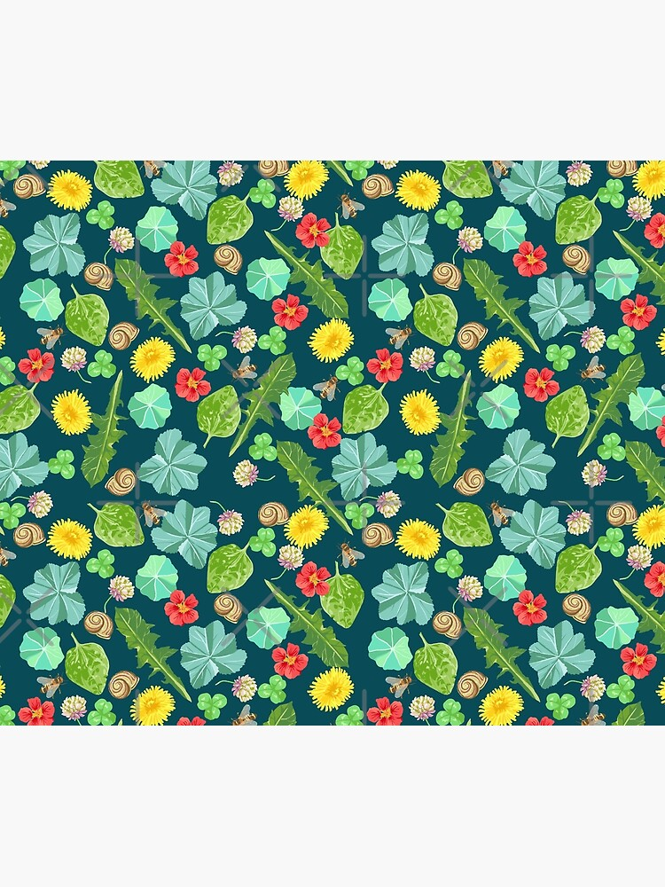 Summer Meadow Pattern by PicajoArt