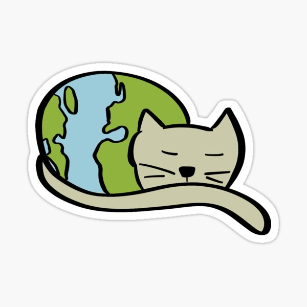 The World at Rest Sticker