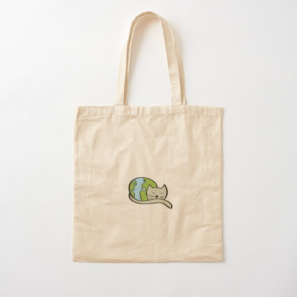 The World at Rest Cotton Tote Bag