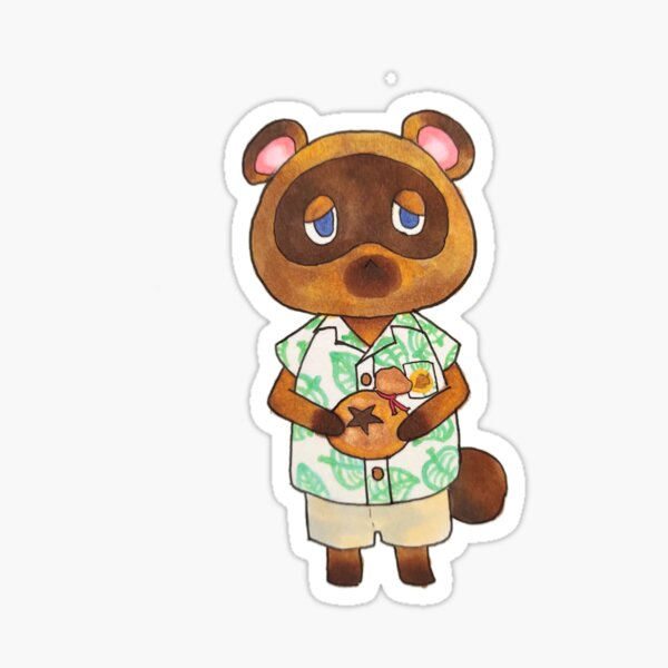 Animal Crossing - Tom Nook Sticker