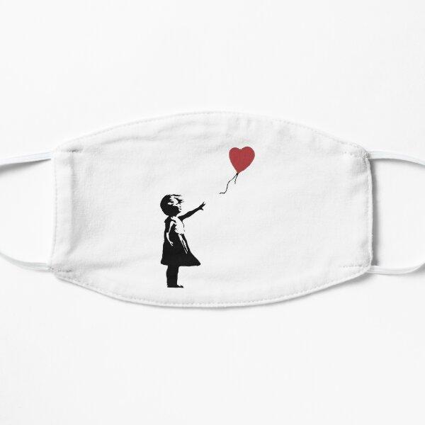 Girl With Balloon Banksy Flat Mask