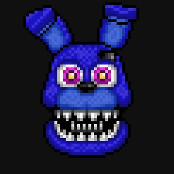 Adventure Nightmare Bonnie - FNAF World - Pixel Art by GEEKsomniac