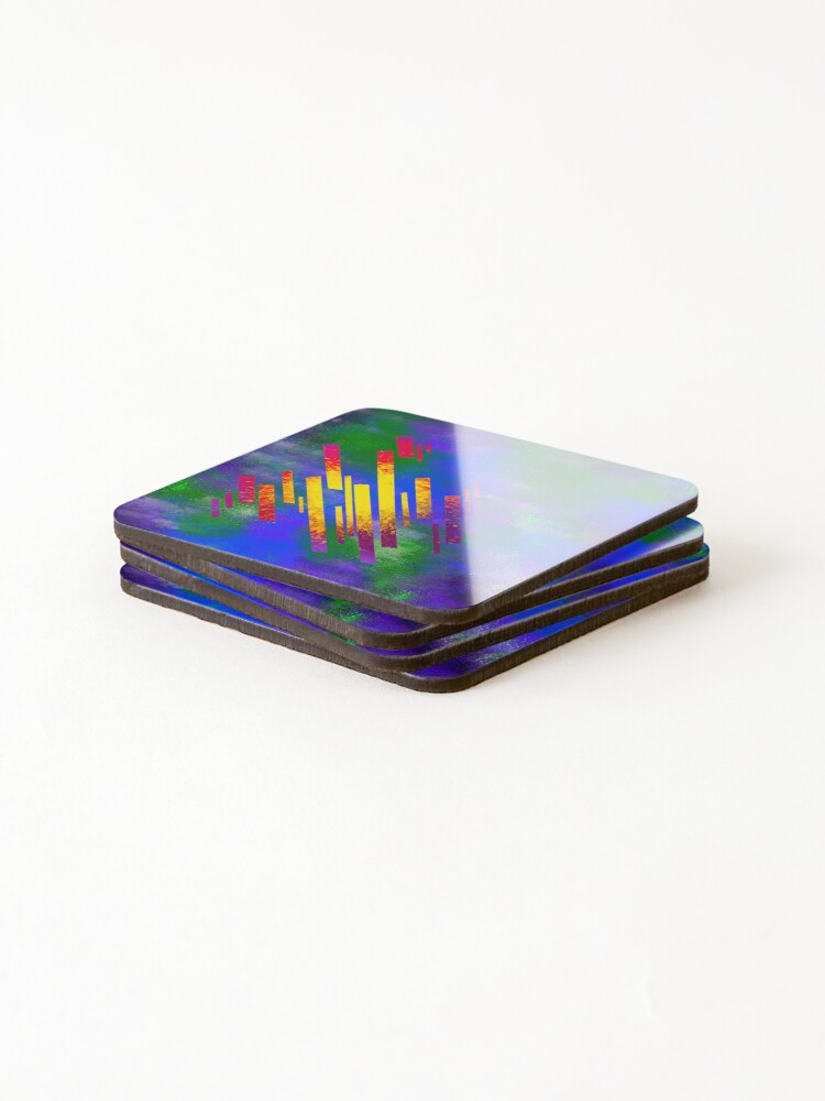 Alternate view of Sampled Sounds Coasters (Set of 4)