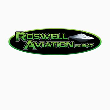 Roswell Aviation by divebargraphics