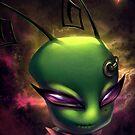 Invader Zim Fan Art - Irken Tak by MylaFox