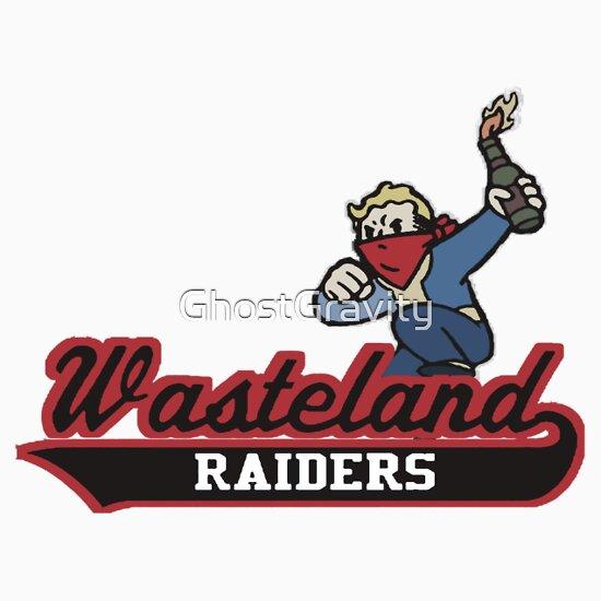TShirtGifter presents: Wasteland Raiders   Baseball  Sleeve