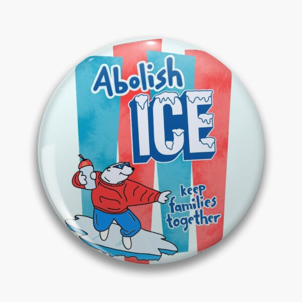 Abolish ICE - The Peach Fuzz Badge