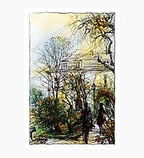 Montmartre 13 in colour Photographic Print