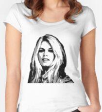 Brigitte Women's Fitted Scoop T-Shirt