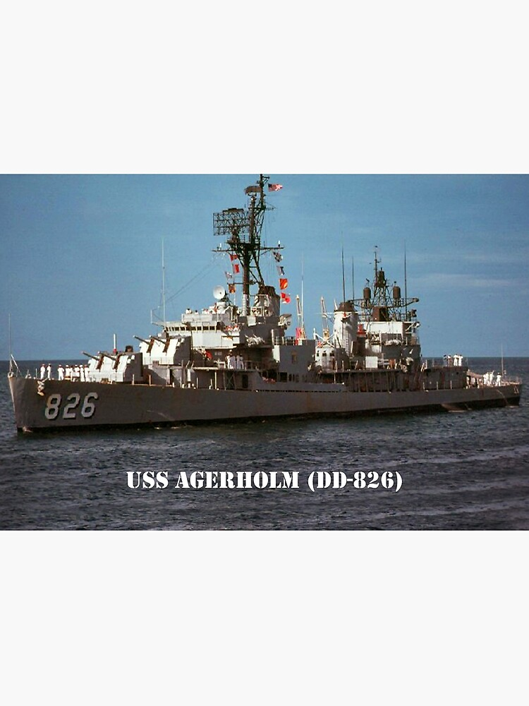 USS AGERHOLM (DD-826) SHIP'S STORE by militarygifts