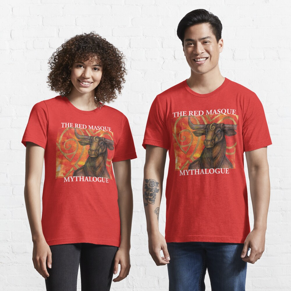 The Red Masque - Mythalogue Essential T-Shirt
