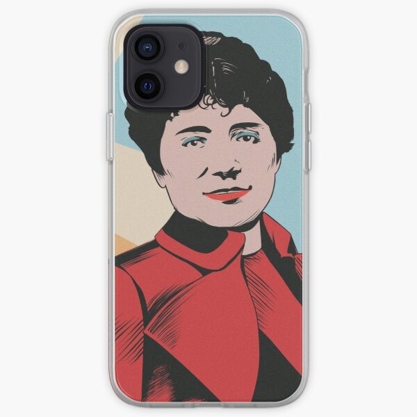 Rosalia de Castro - Popart Funda blanda para iPhone
