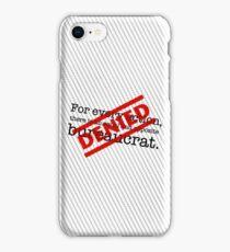 Newtonian Bureaucracy iPhone Case/Skin