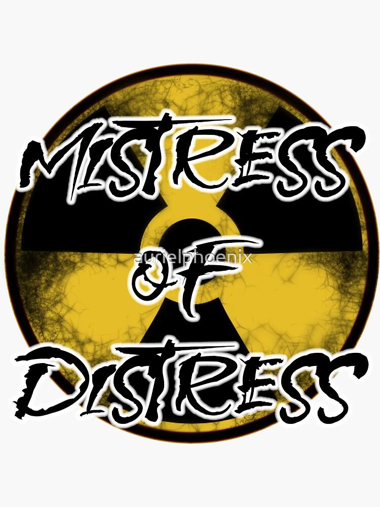 Nuclear Mistress of Distress by aurielphoenix
