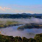 Mist over Tweed Valley by sarcalder