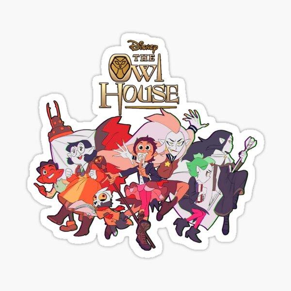 The Owl House - programa de televisión de dibujos animados Pegatina