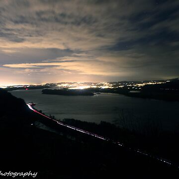 Vancouver at night  by TalonPhotograpy