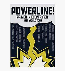 Powerline World Tour Photographic Print