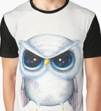 Grumpy Bird Graphic T-Shirt
