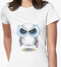 Grumpy Bird Women's Fitted T-Shirt
