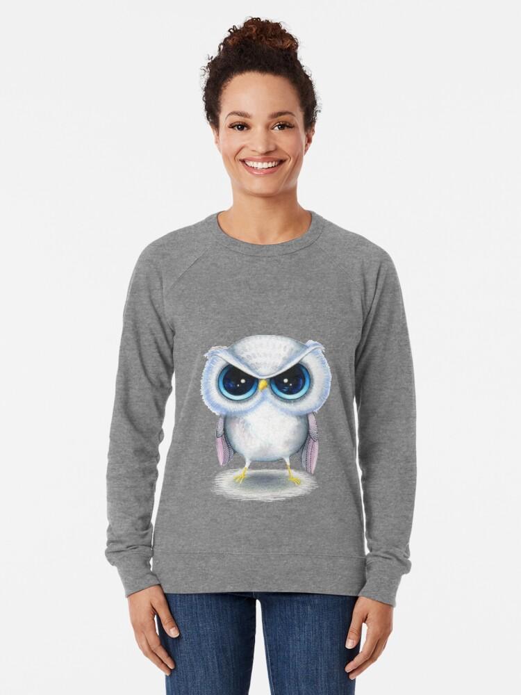 Alternate view of Grumpy Bird Lightweight Sweatshirt