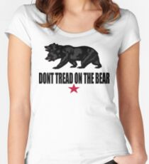 Don't Tread on the Bear Women's Fitted Scoop T-Shirt