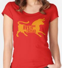 Ave, True to Caesar Women's Fitted Scoop T-Shirt