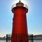 The Little Red Lighthouse by cammisacam
