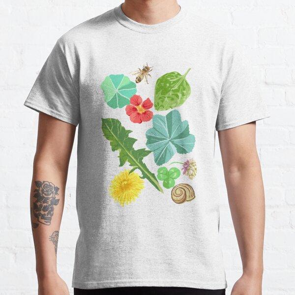 Summer Meadow Pattern Classic T-Shirt