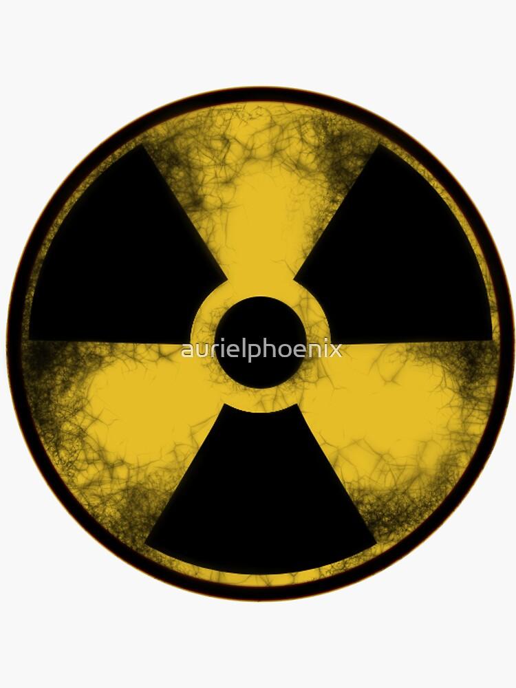 Nuclear Fallout Symbol by aurielphoenix