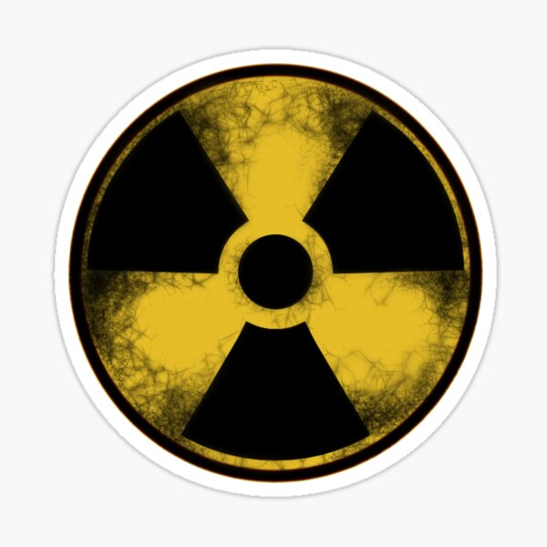 Nuclear Fallout Symbol Sticker