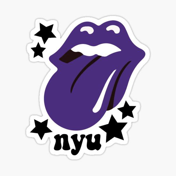 NYU Tongue Sticker