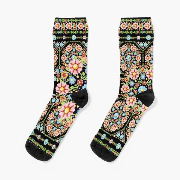 Millefiori Rosette Socks