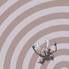 Pokemon - Pinsir Circles iPad Case by Aaron Campbell