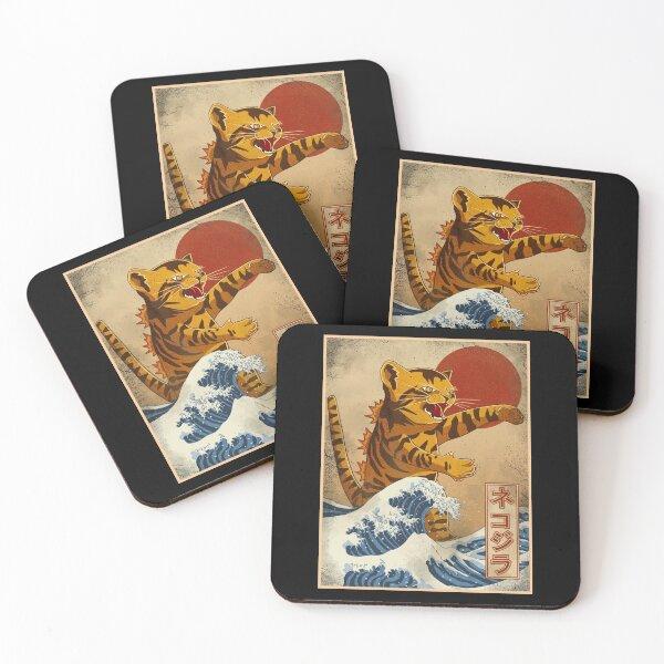 catzilla Coasters (Set of 4)