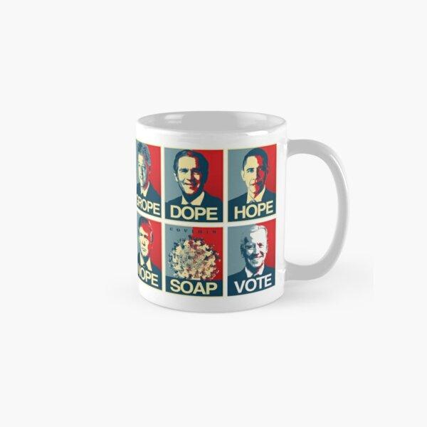 Grope Dope Hope Nope Soap Vote Biden Classic Mug