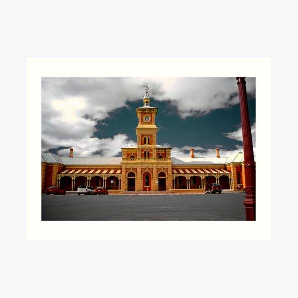 Albury (NSW) Railway Station Art Print