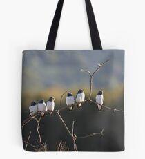 The Evening Chat Tote Bag