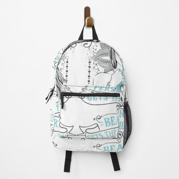 Beauty Gets The Attention Backpack