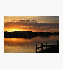 Island Sunrise Photographic Print