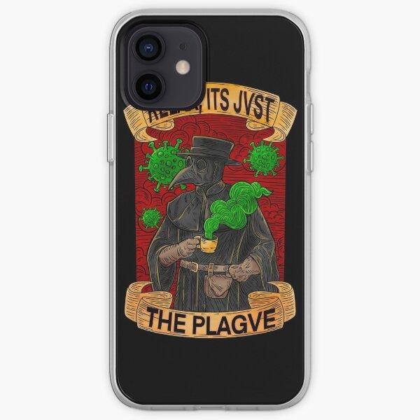 Plague Doctor iPhone Soft Case